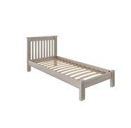 Кровать Rino 800 х 2000 дуб, дуб белёный