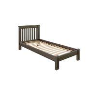 Кровать Rino 800 х 2000 дуб, серый гранит
