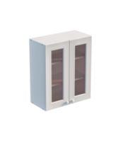 Шкаф навесной 600 х 300 х 720 под стекло, сосна, эмаль