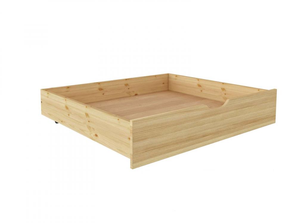 Ящик подкроватный 980 х 810 сосна, бесцветный лак