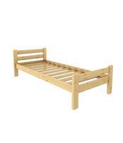 Кровать Классика 800 х 1900 сосна, без покраски