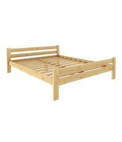Кровать Классика 1200 х 1900 сосна, бесцветный лак