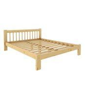Кровать Дачная 1200 х 2000 сосна, бесцветный лак