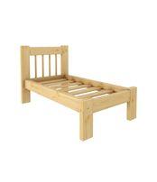Кровать Дачная 600 х 1400 сосна, без покраски
