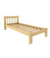 Кровать Дачная 700 х 1900 сосна, бесцветный лак