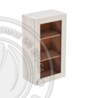 Шкаф навесной 500 х 300 х 900 под стекло, сосна, масло