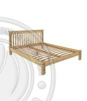 Кровать Pino Rino 2000 х 2000 сосна, бесцветный лак