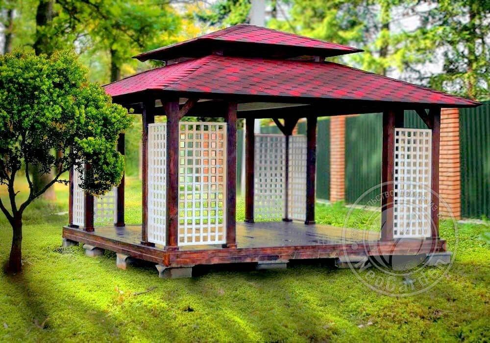 Садовая беседка «Сакура»