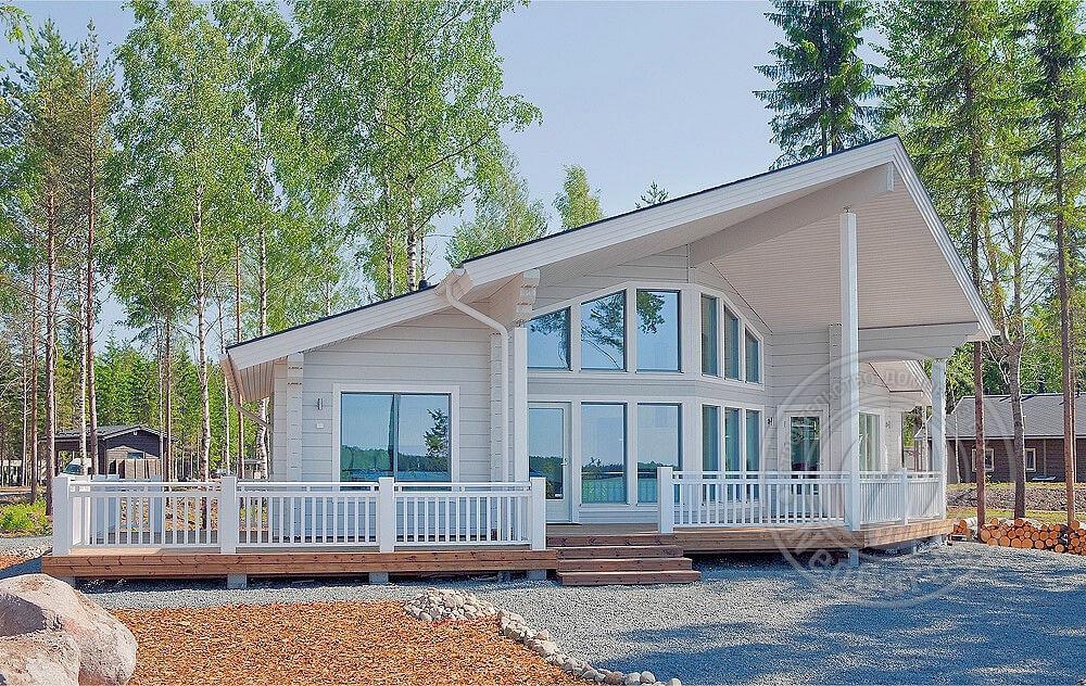 Гостевой дом из 165мм бруса
