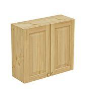 Шкаф навесной 800 х 300 х 720 филенка, сосна, без покраски