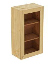 Шкаф навесной 500 х 300 х 900 под стекло, сосна, без покраски