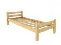 Кровать Классика 700 х 1900 сосна, бесцветный лак
