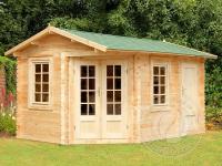 Садовый домик из бруса