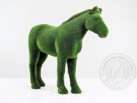 Скульптура топиари - Конь