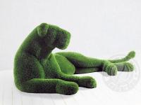 Скульптура топиари - Львица