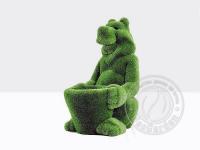 Топиари - Медведь с корзиной