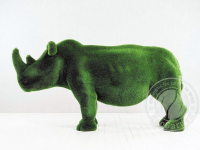 Скульптура топиари - Носорог