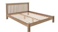 Кровать Rino 2000 х 2000 ясень, без покраски