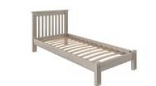 Кровать Rino 900 х 2000 ясень, белёный