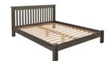 Кровать Rino 2000 х 2000 дуб, серый гранит
