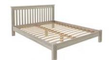 Кровать Rino 2000 х 2000 ясень, белёный