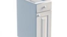 Тумба 1 дверь, 1 ящик 300 х 560 х 720 сосна, эмаль