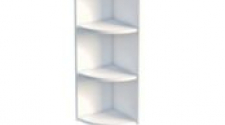 Шкаф-стеллаж заверш 280 х 280 х 900 открытый, сосна, эмаль