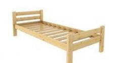 Кровать Классика 800 х 2000 сосна, бесцветный лак