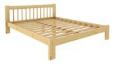 Кровать Дачная 1600 х 1900 сосна, без покраски