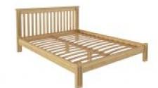 Кровать Pino Rino 1400 х 2000 сосна, бесцветный лак