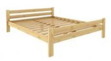 Кровать Классика 1400 х 2000 сосна, бесцветный лак