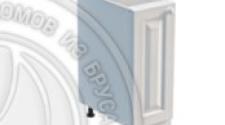 Тумба 1 дверь 300 х 560 х 720 сосна, эмаль