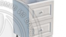 Тумба 2 ящика 600 х 560 х 720 сосна, эмаль