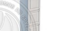 Пенал 2040 х 600 х 560 филенка, 3 двери (с полками), сосна, эмаль