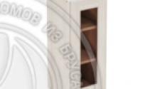 Шкаф навесной 300 х 300 х 720 под стекло, сосна, масло