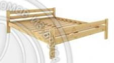 Кровать Классика 1800 х 1900 сосна, бесцветный лак