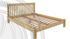 Кровать Pino Rino 1200 х 2000 сосна, бесцветный лак