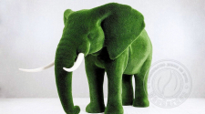 Скульптура топиарий - Слон большой