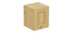 Шкаф навесной 300 х 300 х 360, сосна, без покраски