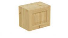 Шкаф навесной 450 х 300 х 360, сосна, бесцветный лак