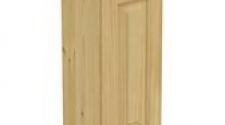Шкаф навесной 300 х 300 х 720 филенка, сосна, без покраски
