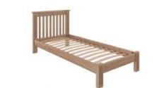 Кровать Rino 900 х 2000 дуб, без покраски