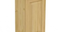 Шкаф навесной 450 х 300 х 720 филенка, сосна, без покраски