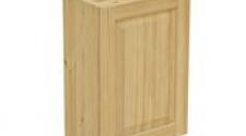 Шкаф навесной 500 х 300 х 720 филенка, сосна, бесцветный лак
