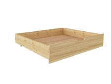 Ящик подкроватный 980 х 810 сосна, без покраски