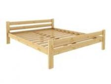 Кровать Классика 1200 х 2000 сосна, бесцветный лак