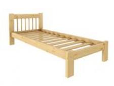 Кровать Дачная 800 х 2000 сосна, беcцветный лак