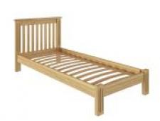 Кровать Pino Rino 900 х 2000 сосна, без покраски