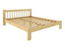 Кровать Дачная 1400 х 2000 сосна, бесцветный лак