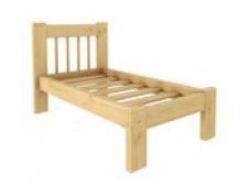 Кровать Дачная 600 х 1200 сосна, без покраски